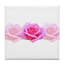 Mixed Pinks Tile Coaster
