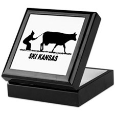 Ski Kansas Keepsake Box