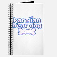 Powderpuff Karelian Bear Dog Journal