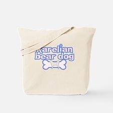 Powderpuff Karelian Bear Dog Tote Bag