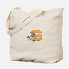 G is for Goat Tote Bag