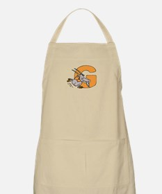 G is for Goat BBQ Apron