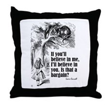 "Carroll ""Believe In Me"" Throw Pillow"