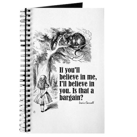 """Carroll """"Believe In Me"""" Journal"""