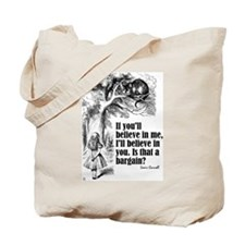 "Carroll ""Believe In Me"" Tote Bag"