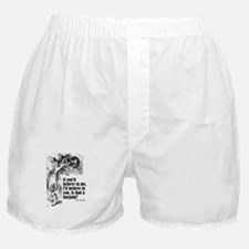 "Carroll ""Believe In Me"" Boxer Shorts"