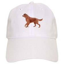 Irish setter portrait Baseball Cap