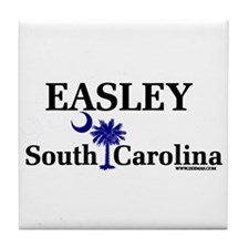 Easley South Carolina Tile Coaster
