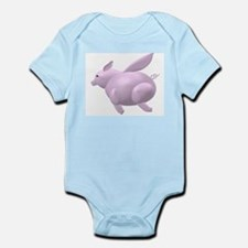 Flying Pig Infant Creeper