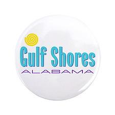 """Gulf Shores - 3.5"""" Button"""