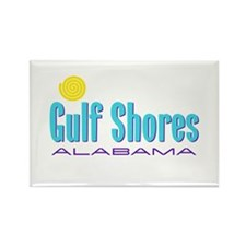Gulf Shores - Rectangle Magnet