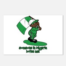 Someone in Nigeria loves me! Postcards (Package of