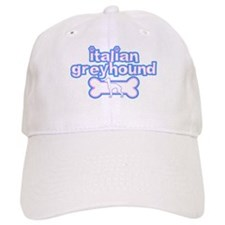 Powderpuff Italian Greyhound Baseball Cap