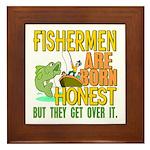 Born Honest Framed Tile