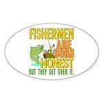 Born Honest Oval Sticker (10 pk)