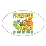 Born Honest Oval Sticker