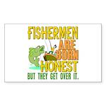 Born Honest Rectangle Sticker