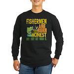 Born Honest Long Sleeve Dark T-Shirt