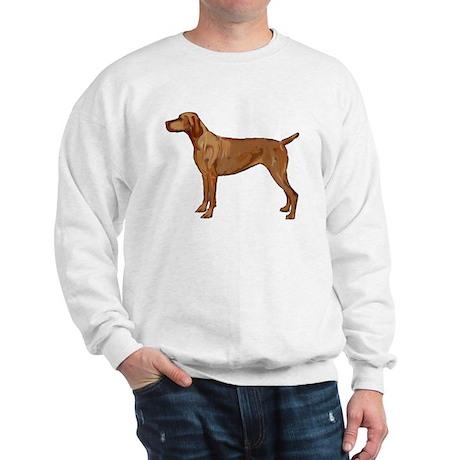 Vizsla portrait 2 Sweatshirt