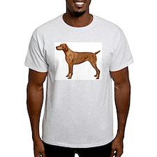Vizsla portrait 2 T-Shirt