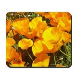 California poppy gifts Mouse Pads