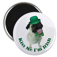 Irish Pug Magnet