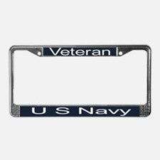 Unique Military License Plate Frame