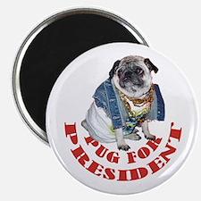 Pug for President Magnet