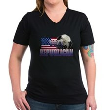 Vote Repuglican V-Neck TShirt
