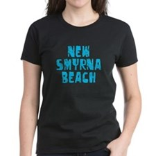 New Smyrna B.. Faded (Blue) Tee