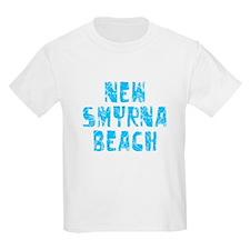 New Smyrna B.. Faded (Blue) T-Shirt