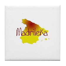 Madrilena Tile Coaster