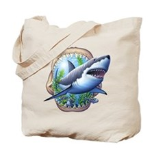 Great White 3 Tote Bag