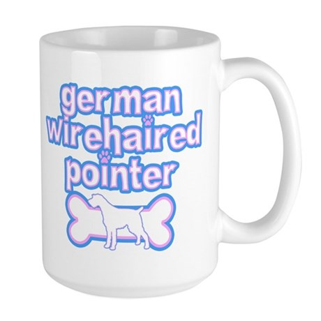 Powderpuff German Wirehair Large Mug