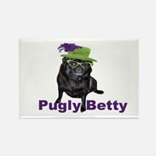 Pugly Betty Magnet