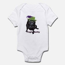 Pugly Betty Infant Onesie