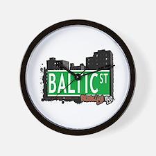 BALTIC STREET, BROOKLYN, NYC Wall Clock
