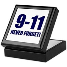 9-11 Never Forget Keepsake Box