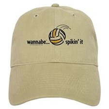 wannabe...spikin' it Baseball Cap