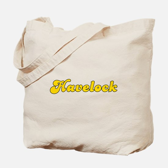 Retro Havelock (Gold) Tote Bag