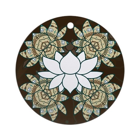 The Lotus Ornament (Round)