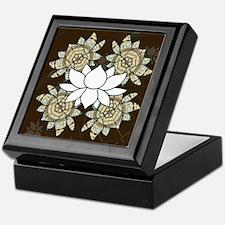 The Lotus Keepsake Box