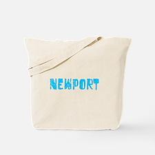 Newport Faded (Blue) Tote Bag