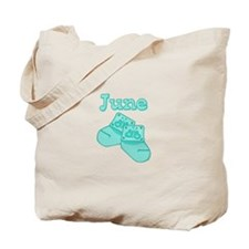 Baby Socks June Tote Bag