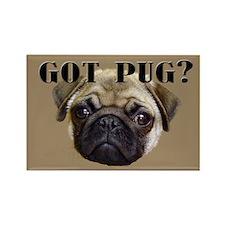 Got Pug Rectangle Magnet