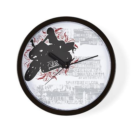Sportbike411 Wall Clock 1