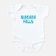 Niagara Falls Faded (Blue) Infant Bodysuit