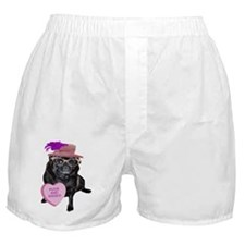 Pugs and Kisses Boxer Shorts
