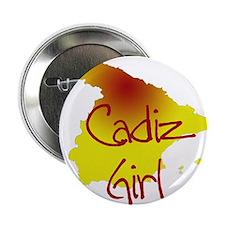 """Cadiz Girl 2.25"""" Button"""