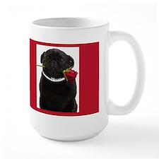 Pugs and Kisses Coffee Mug